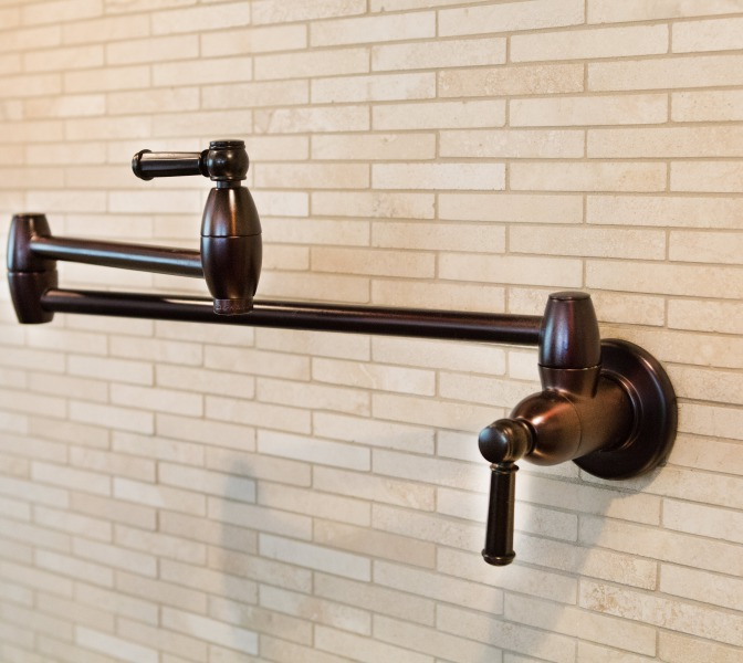 A wall Mount Pot Filler