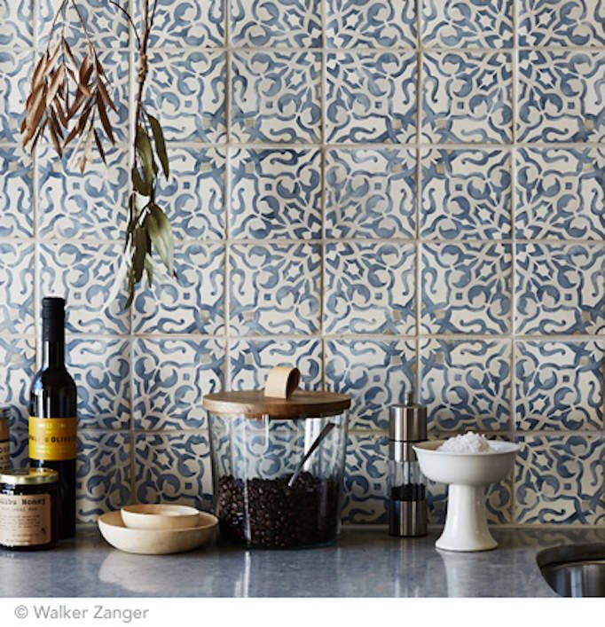 Cement Tile Obsession The Creative Kitchen Co - Ceramic tile that looks like cement tile