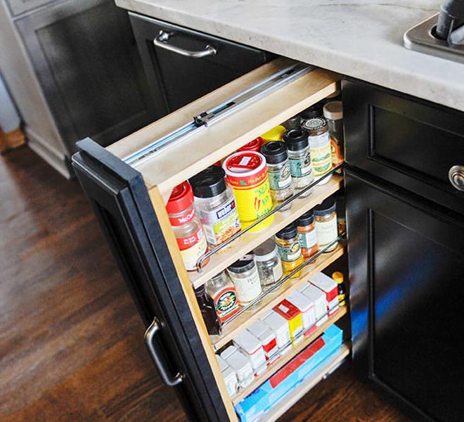 Kitchen Remodel Efficient Storage Solutions