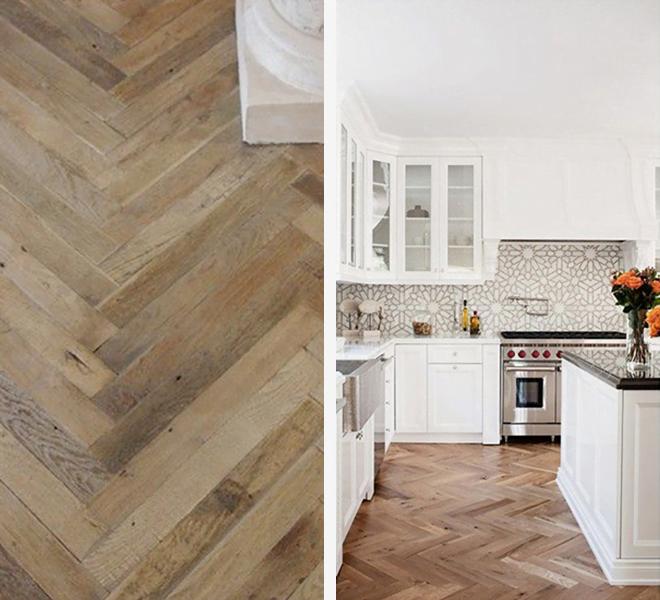 Kitchen Remodel Hardwood & Ceramic Flooring