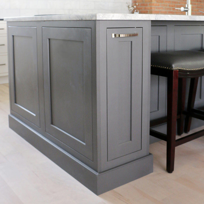 Grey Shaker Kitchen