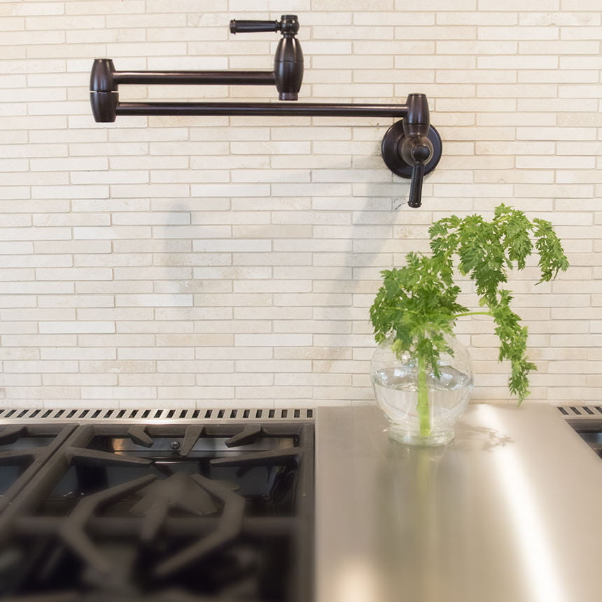 Ceramic Tile Kitchen Hardware