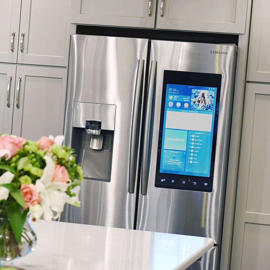 Family Hub Smart Fridge