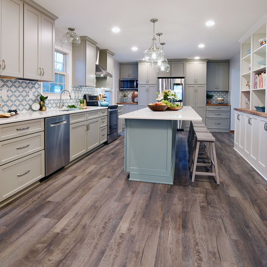 Vinyl Plank Kitchen Flooring
