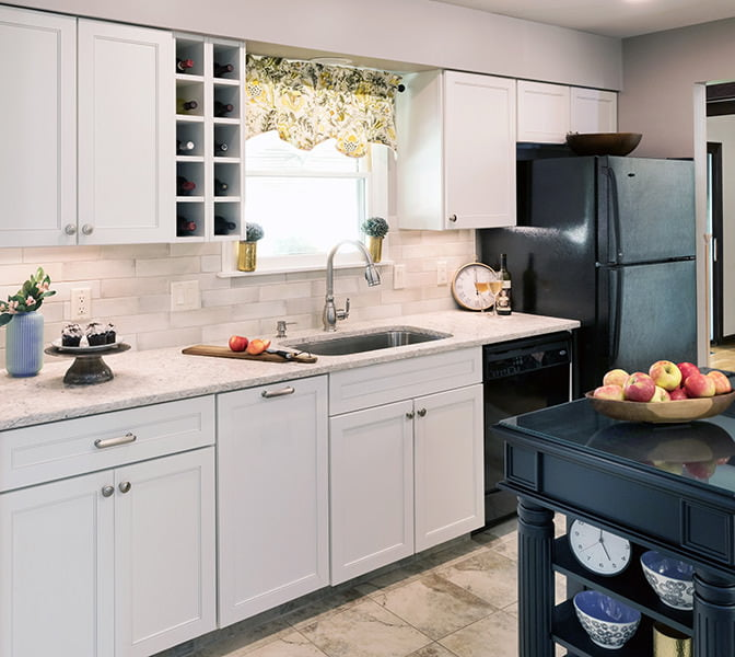 A Completely Transformed kitchen