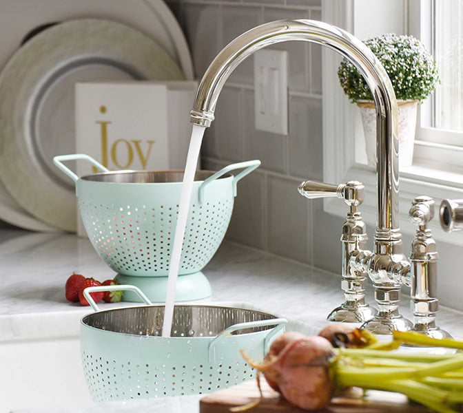 Perfectly Matched Kitchen Faucet